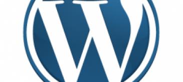 Detall Del Logo De Wordpress