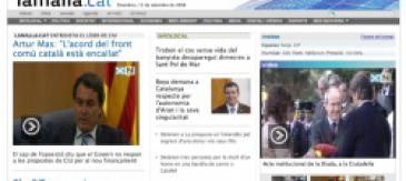 La Malla.cat Rellança La Seva Nova Web Estrenant Imatge Corporativa