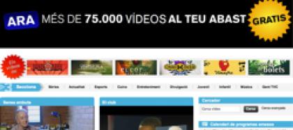L'arxiu Del 3alacarta, íntegre I Gratuït Al Web De TV3