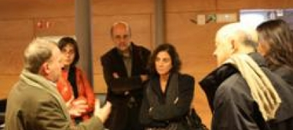 L'alcalde De Sant Sebastià, Odón Elorza, Visita El Citilab