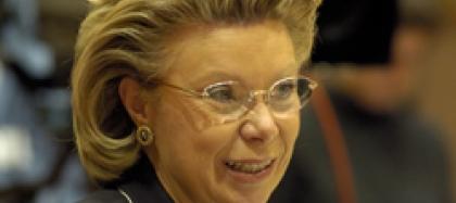 Viviane Reading, Responsable De La Societat De La Informació I Media De La Comissió Europea