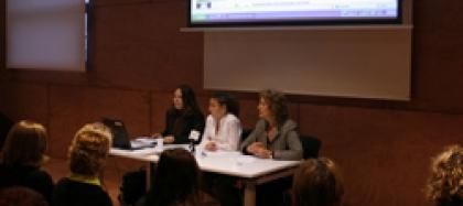 """Presentació De La Web De """"Dones De Cornellà En Xarxa"""""""