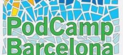 Logo PodCamp Barcelona