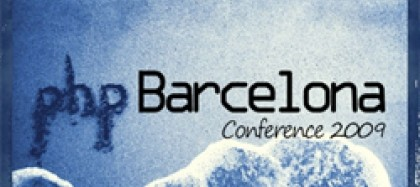 Logo Conferència PHP Barcelona 2009