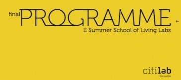 Ja Tenim El Programa Definitiu Per La II Living Labs Summer School