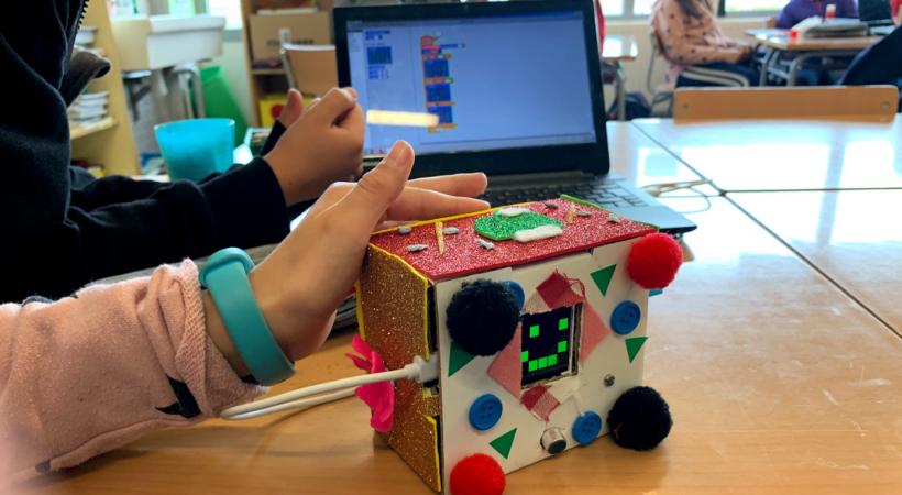 Projecte EduLab - Projecte Nivell Sonor Amb L'Escola Martinet