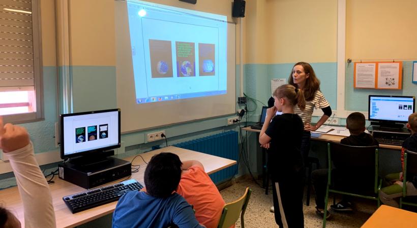 Projecte EduLab - Projecte Etapes De La Terra Amb L'Escola Anselm Clavé