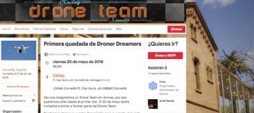 20 De Maig: Vine A Fer Volar El Teu Dron Amb El Nou Drone Racing Team