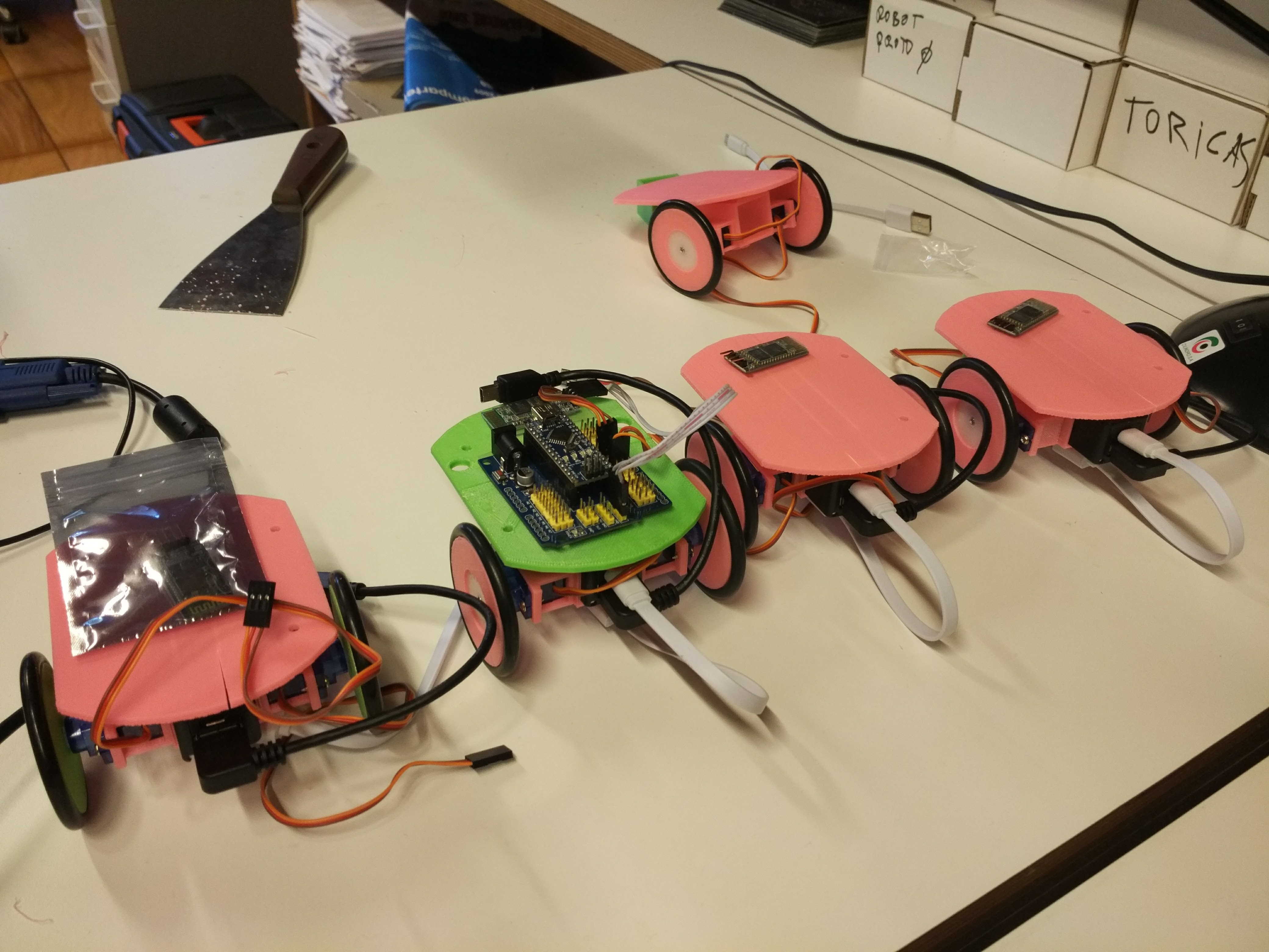 Prototips De Robots D'Edulab