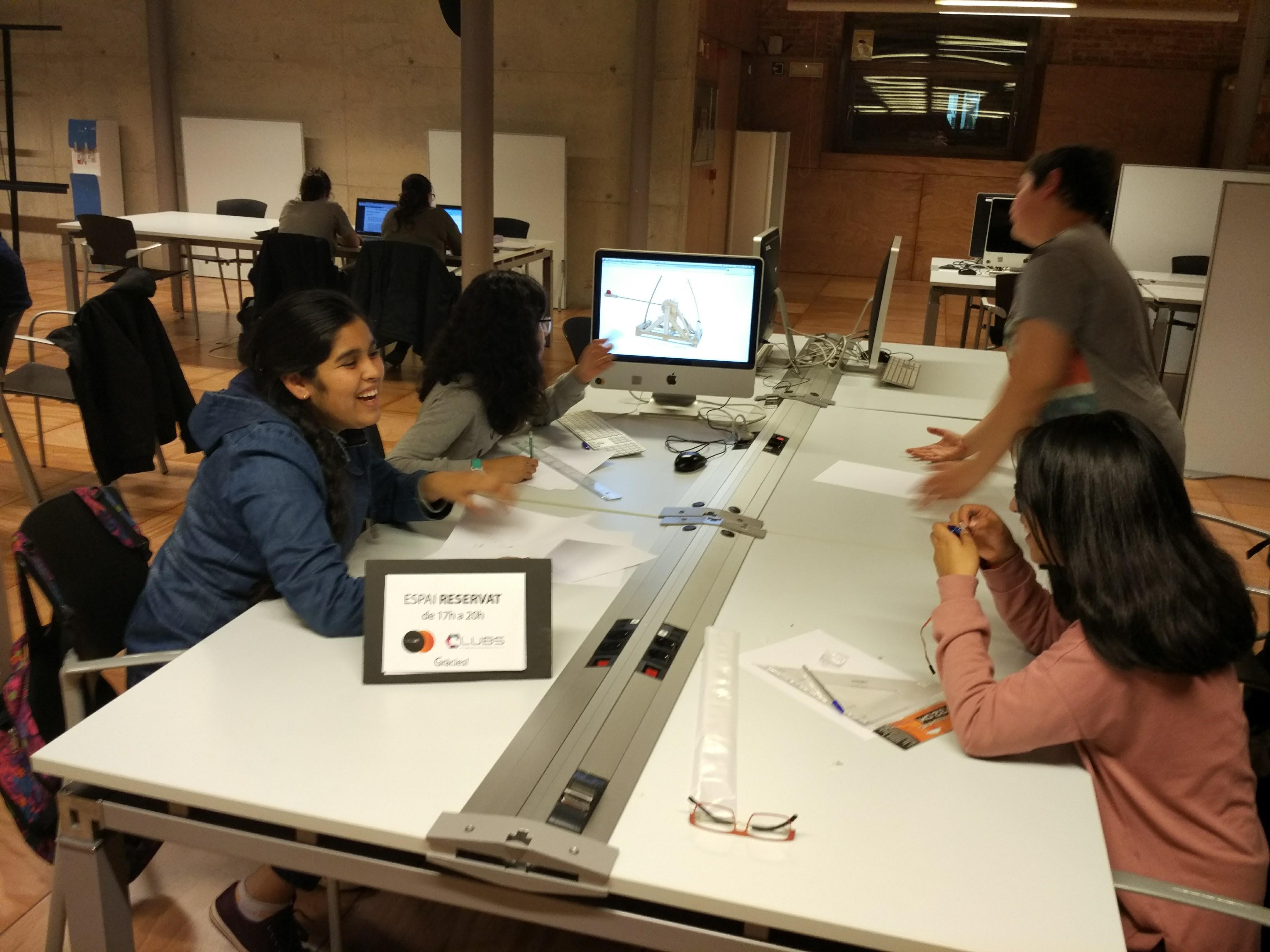 Nens al projecte Edulab
