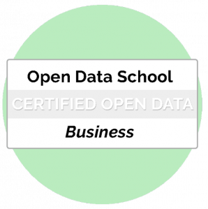 Certificat Business Professional Open Data