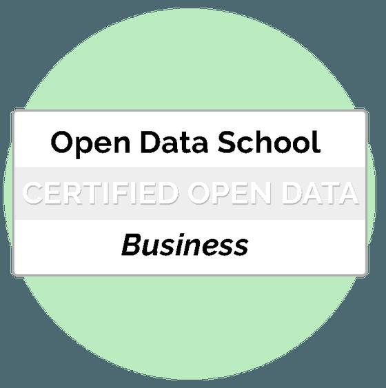 Certificat Business Professional Open Data Bàsic