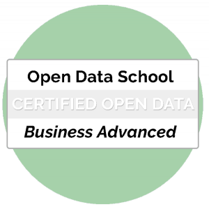 Certificat Business Advanced Professional Open Data