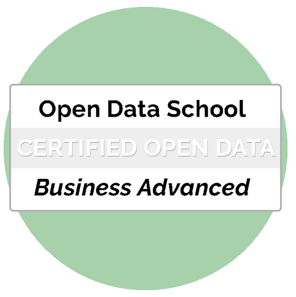 Certificat Business Advanced Professional Open Data