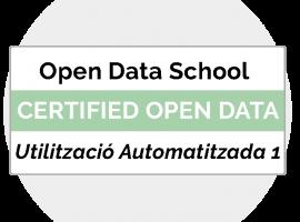 OpenDataLab – Curs 2.8. Utilització Automatitzada De Fonts De Dades Públiques 1