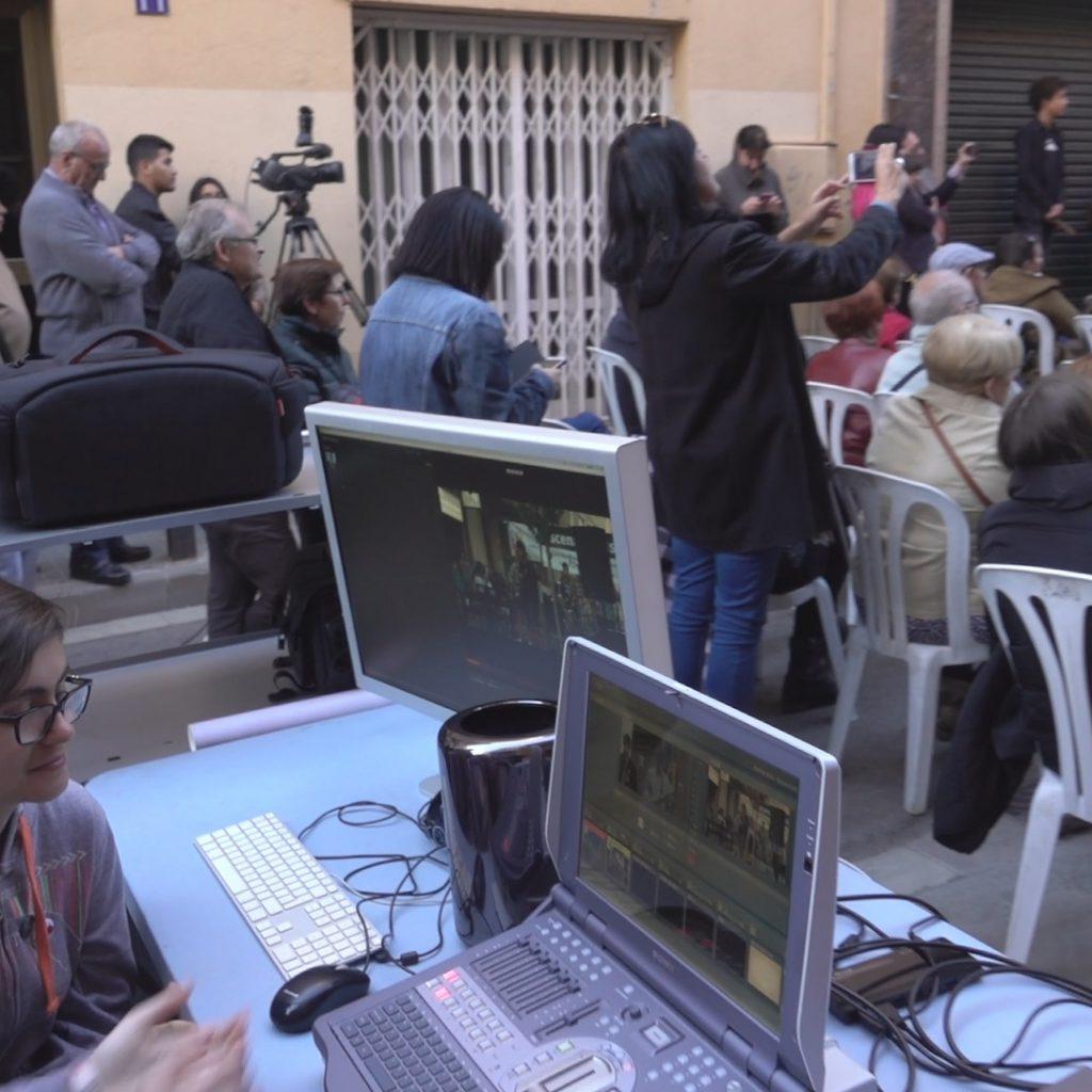 Realització Audiovisual En Directe El Dia De La Creativitat