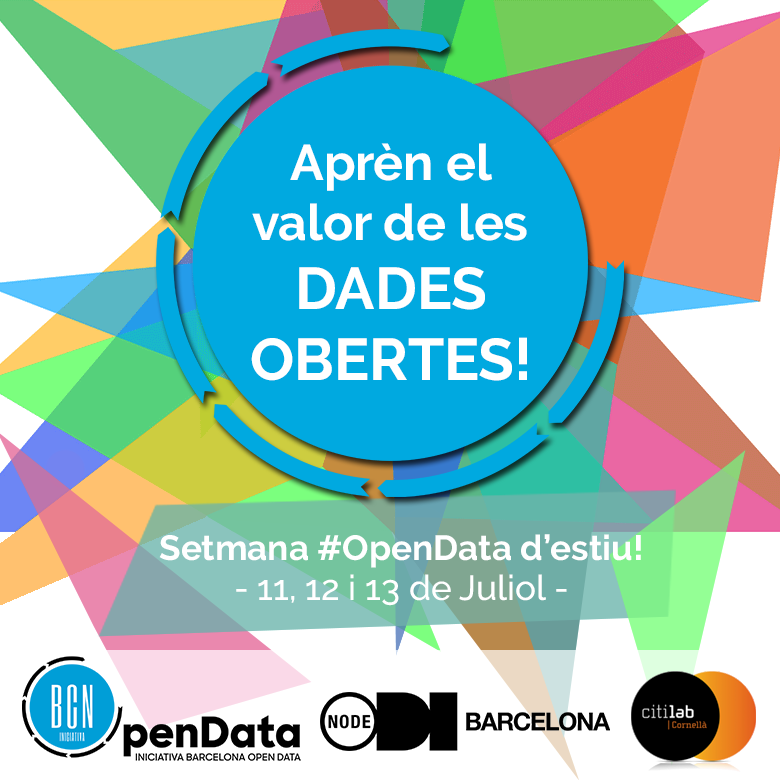 Jornada Open Data D'estiu CITILAB