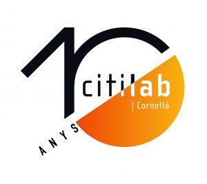 Logo 10è aniversari Citilab