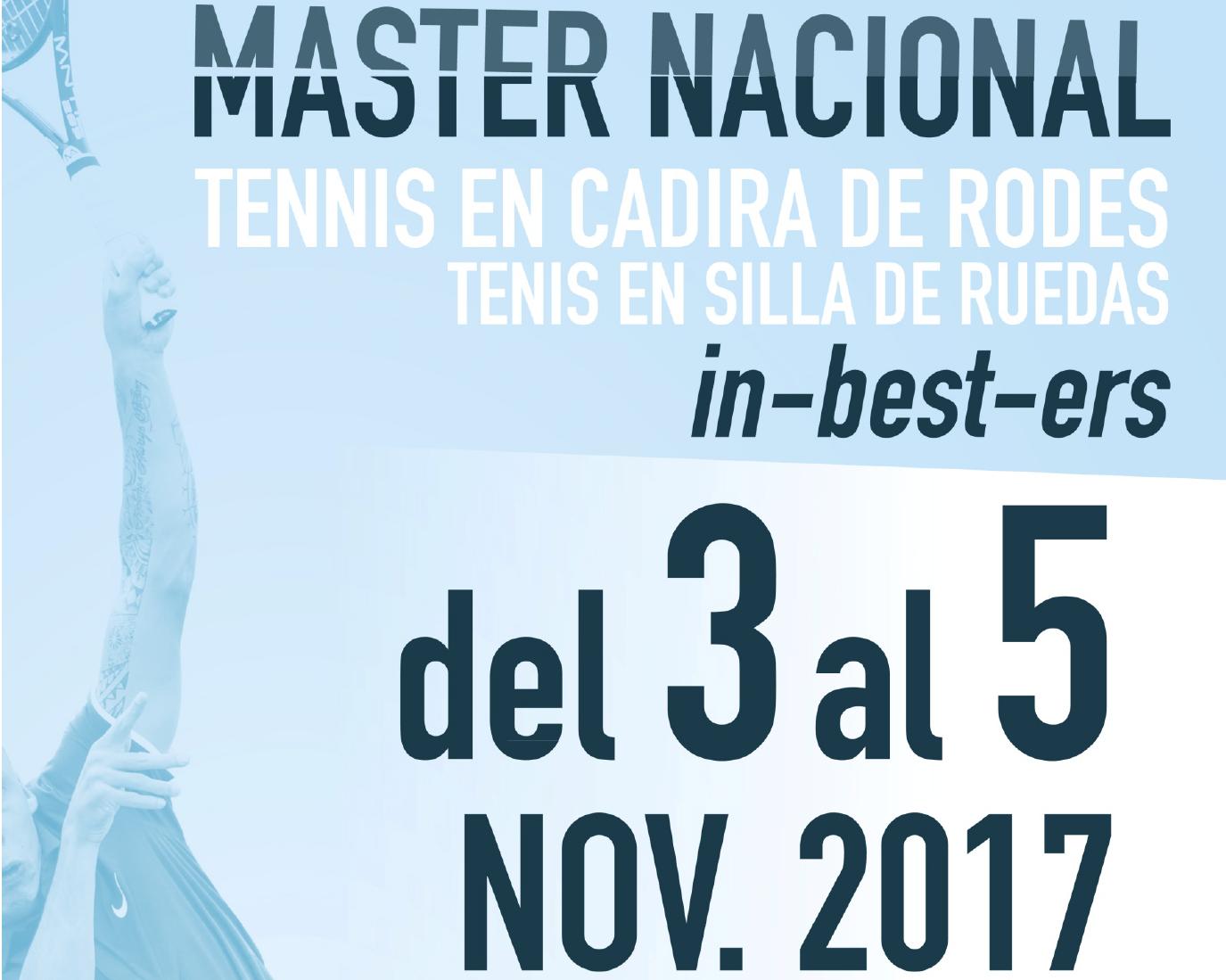 In-best-ers Patrocina El Màster Nacional De Tennis En Cadira De Rodes