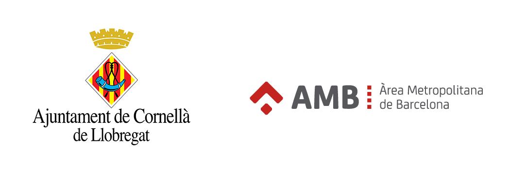 Logos Ajuntament de Cornellà i AMB