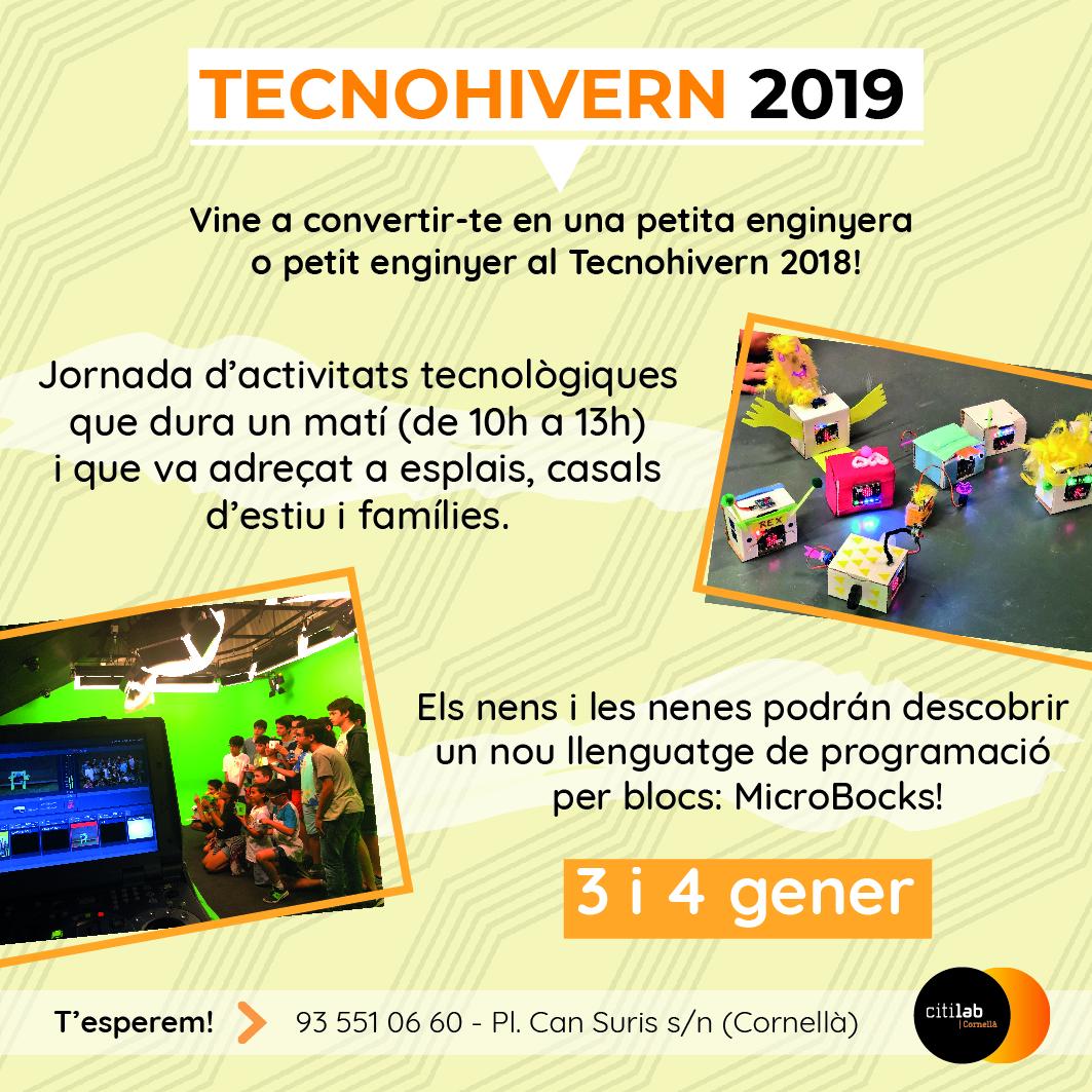 Tecnohivern 2019 - Cartell de difusió
