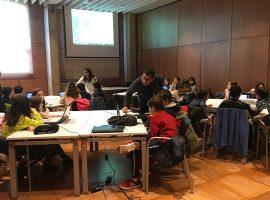 L'alumnat De L'Escola Suris Aprèn Programació I Robòtica Al Citilab