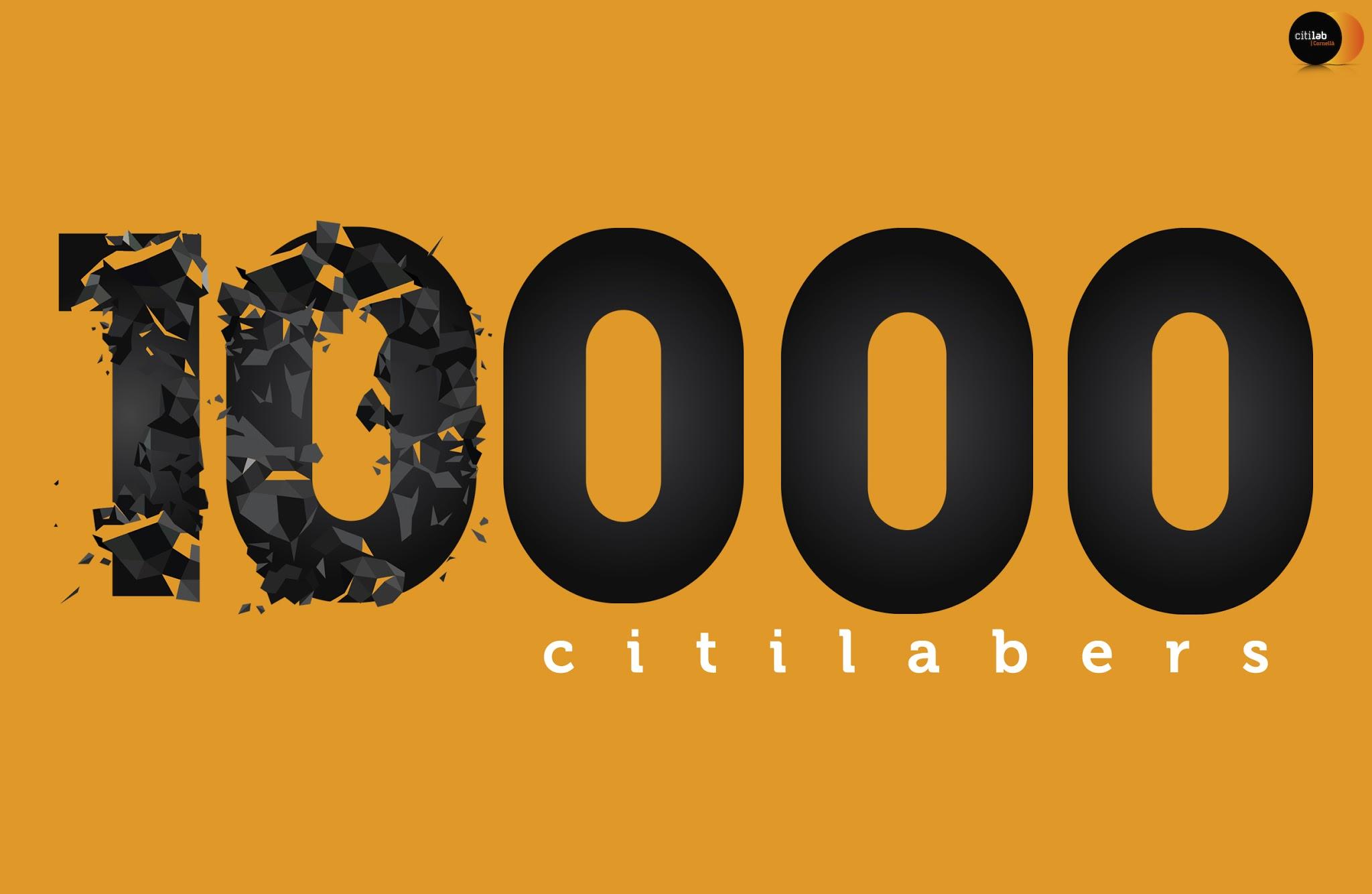 10.000 Citilabers - Logo Destacat