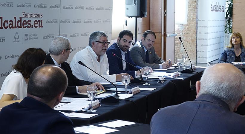 Citilab Acull L'esmorzar I Col·loqui D'Alcaldes.eu Sobre Innovació, Municipis I Persones