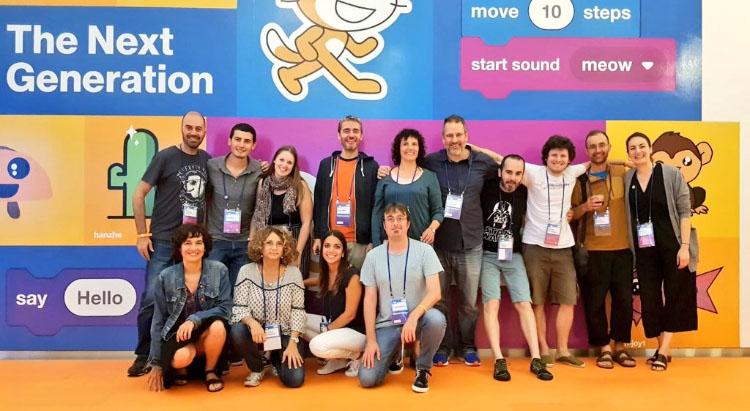 Pòster Scratch Conference 2018 - Comunitat Catalana