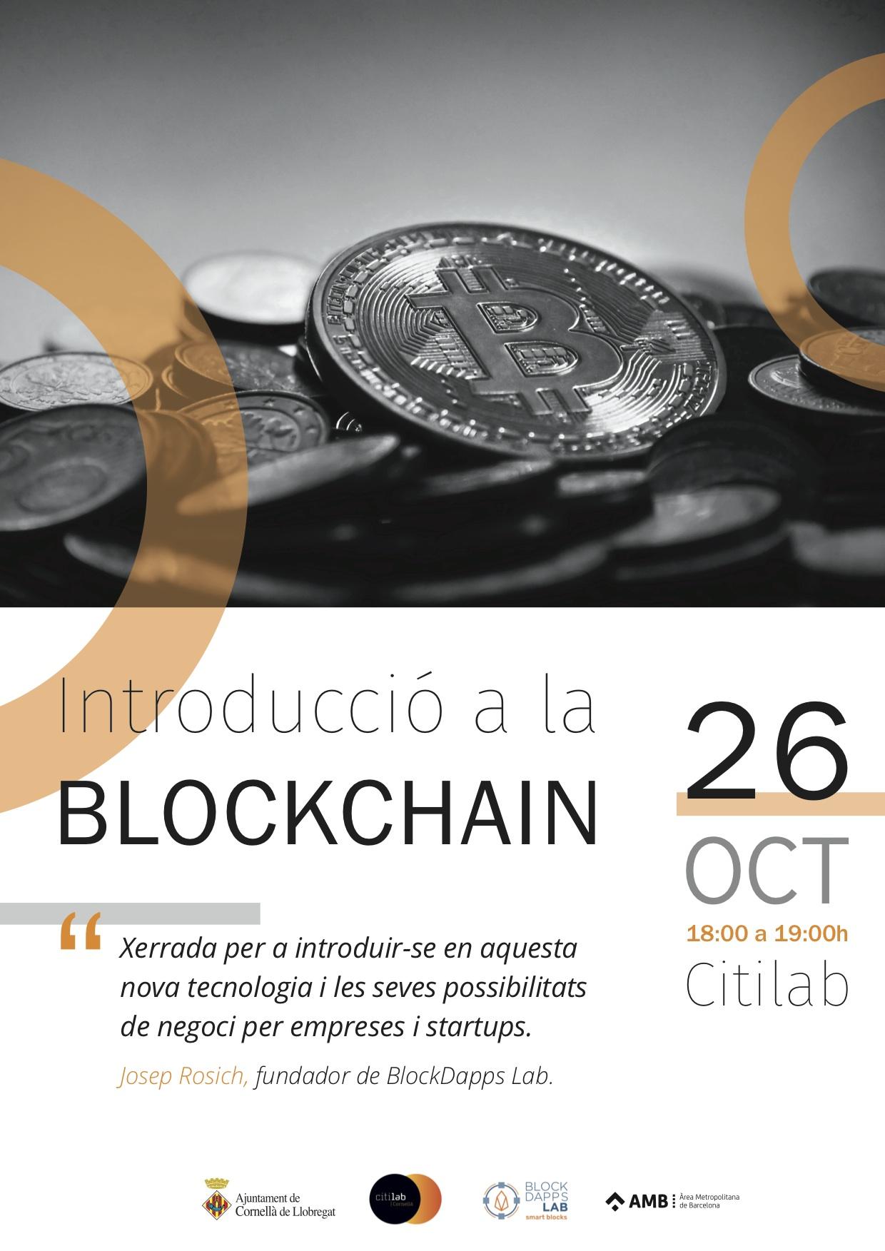 Conferència D'introducció A La Blockchain – Josep Rosich