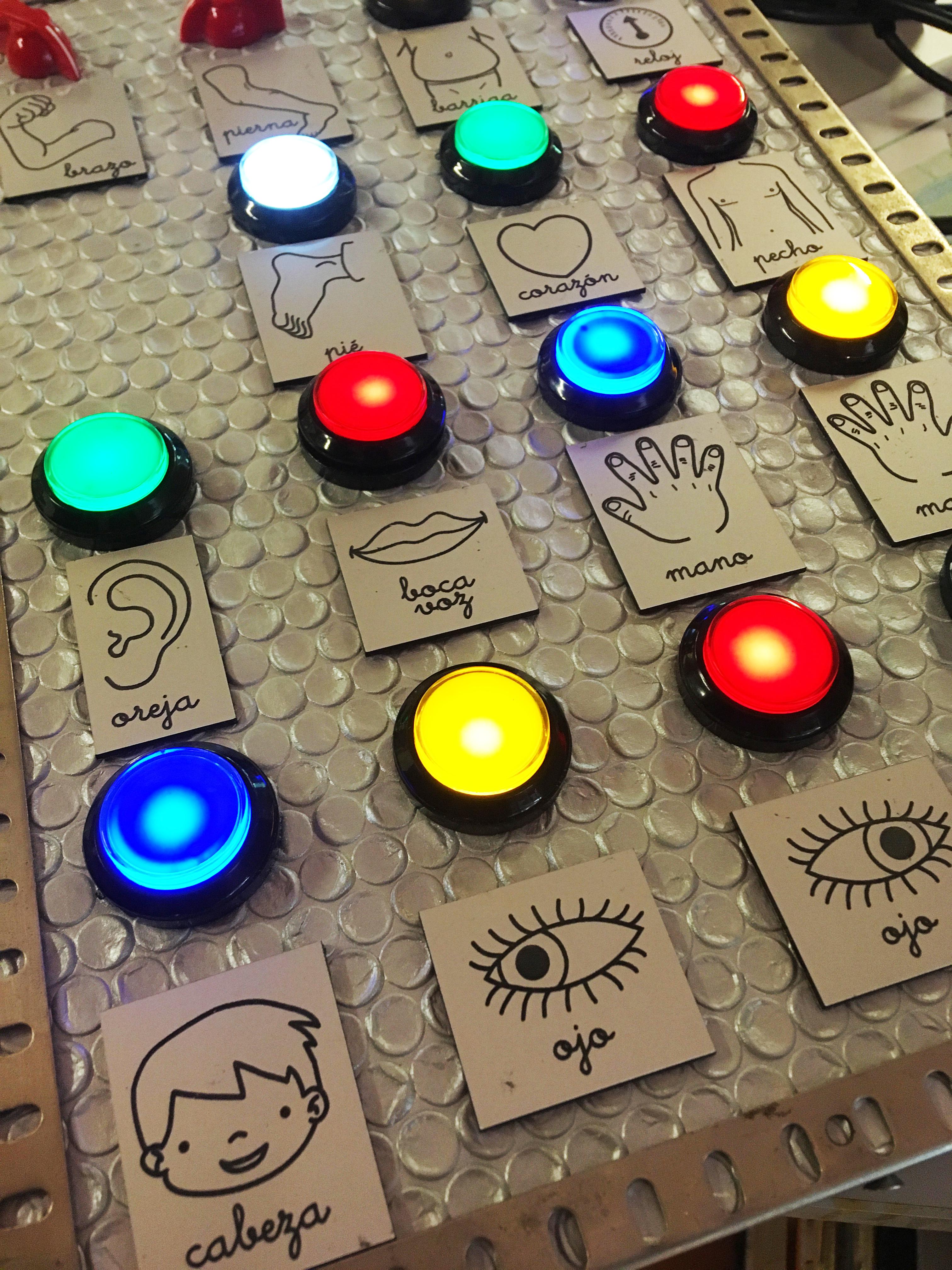 Panell robot Robi - Club Maker 2018