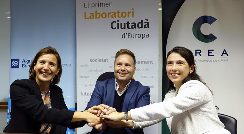 Nou Conveni De Col·laboració Entre Aigües De Barcelona, CREA I Citilab