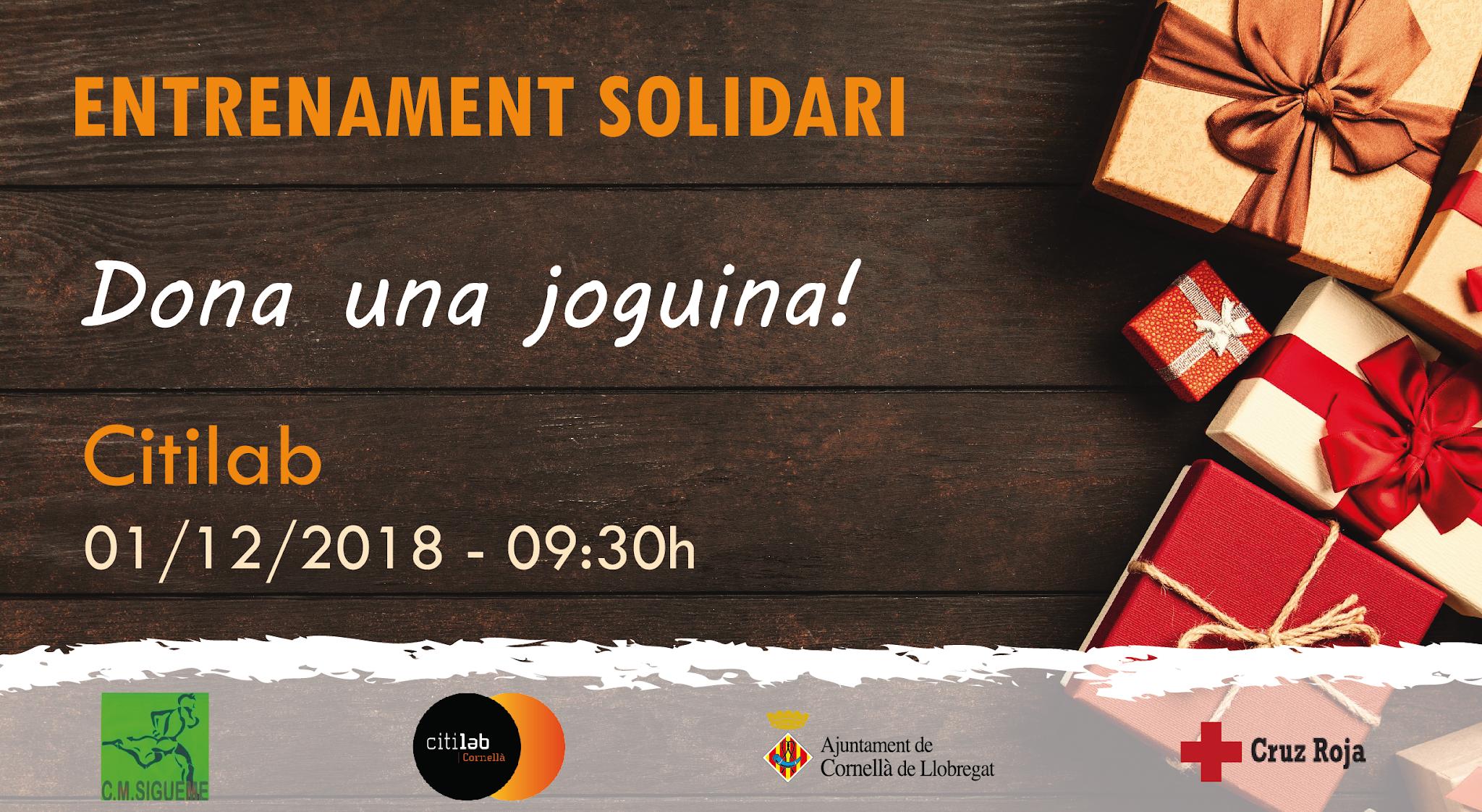 Entrenament Solidari Al Citilab: Cap Infant Sense Joguina Aquest Nadal!