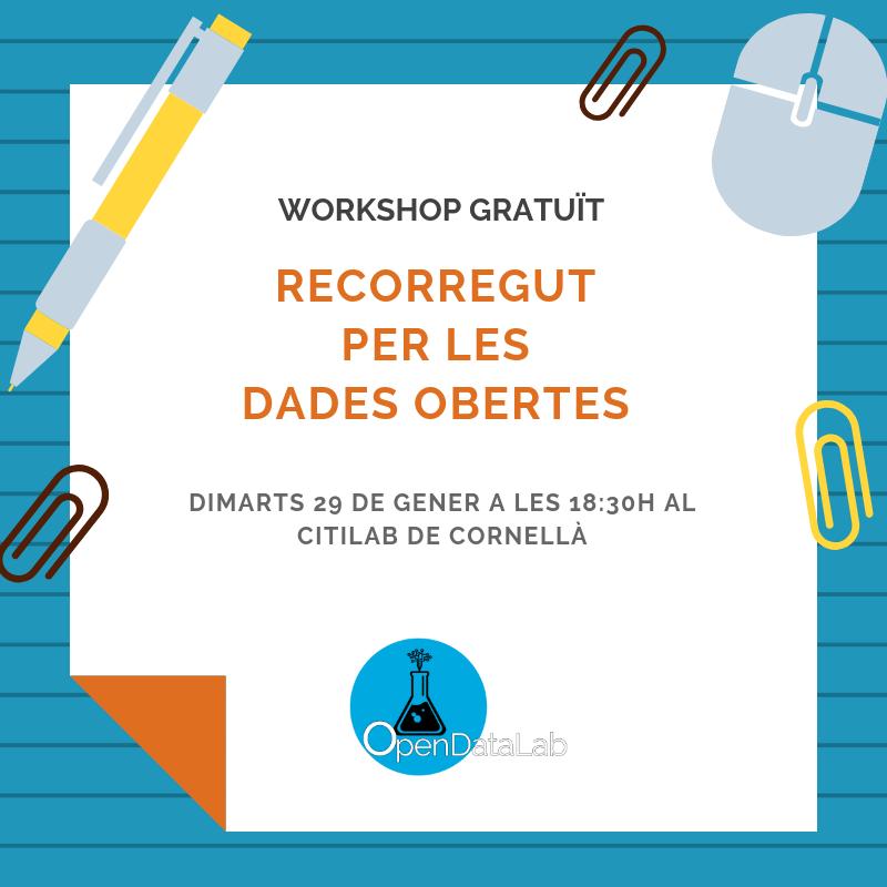 cartell Workshop Opendata 24 gener
