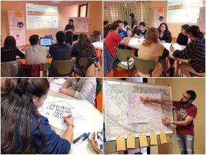 Primera sessió BiblioLab amb joves de la ciutat 2019