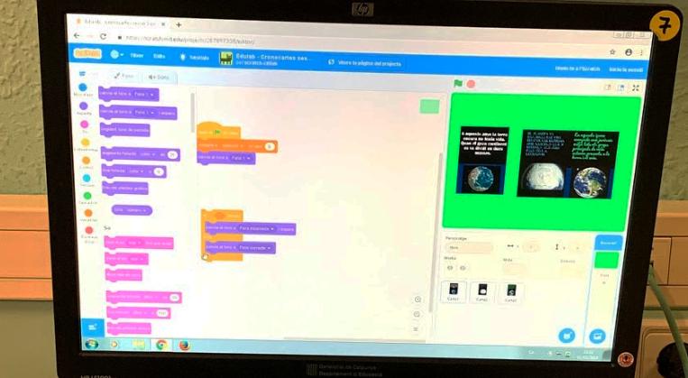 EduLab 2019 - Projecte Etapes De La Terra Amb L'Escola Anselm Clavé