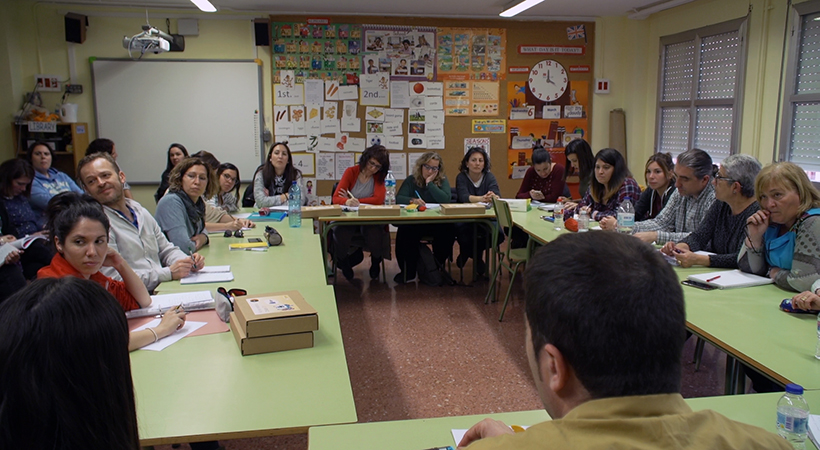 EduLab 2019 - Reunió Amb El Professorat De L'Escola Mediterrània