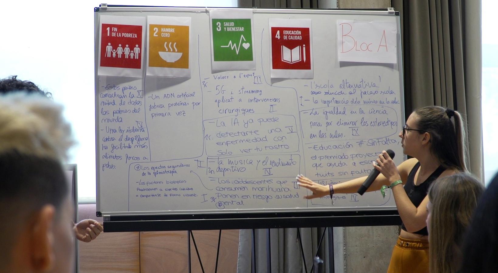 La Salut, La Innovació I La Reducció De Desigualtats Són Els ODS Que Més Interessen A L'alumnat De 1r De Batxillerat De Cornellà
