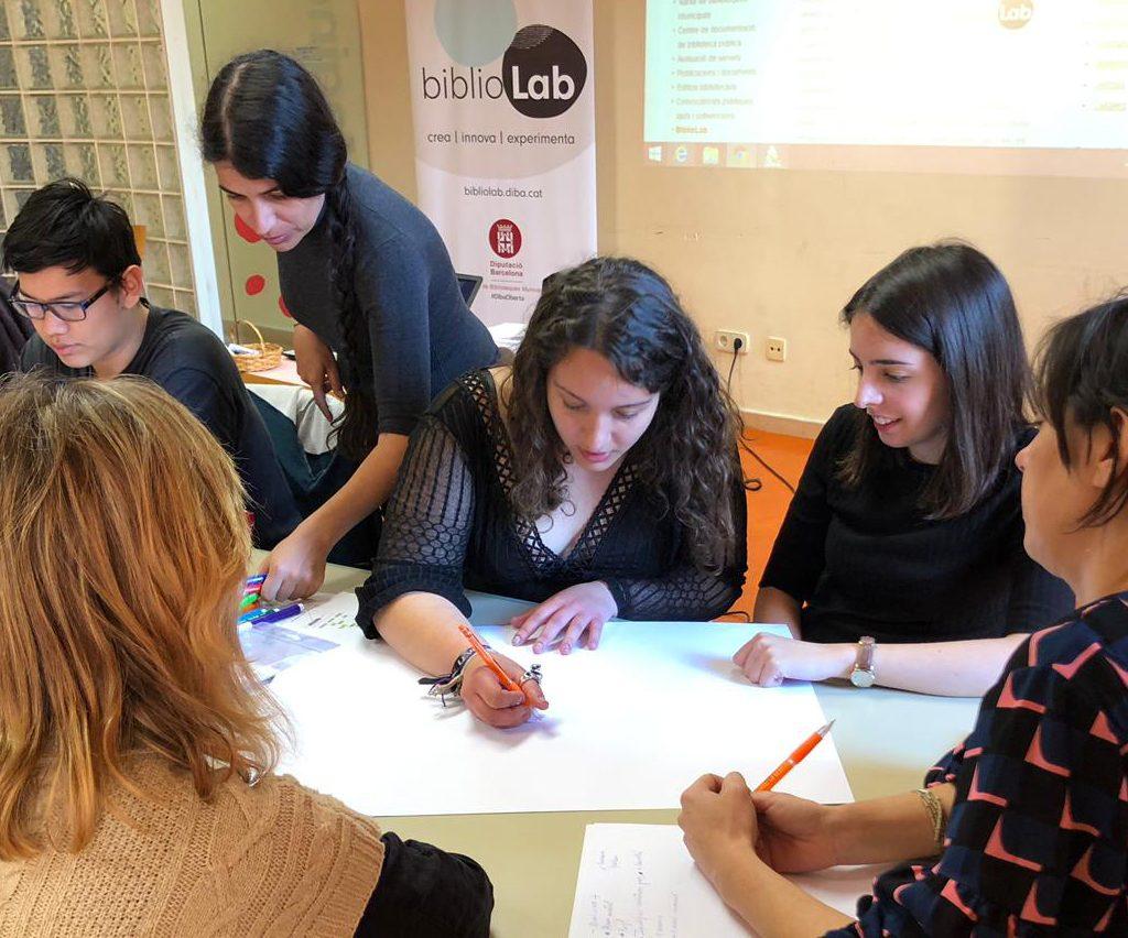 BiblioLab 2019 - Sessió Amb Joves De Cornellà