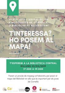 Sessió oberta BiblioLab 2019 - Mapeig col·laboratiu amb joves de la ciutat