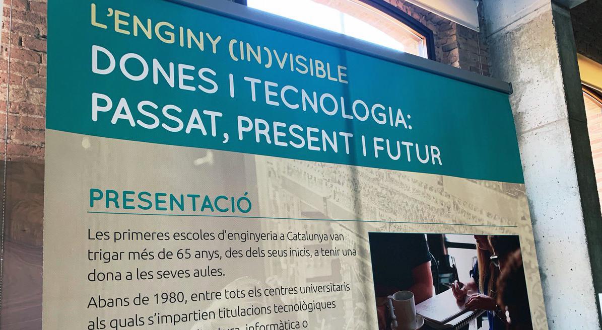 Citilab Acull L'exposició 'L'enginy (in)visible. Dones I Tecnologia: Passat, Present I Futur'
