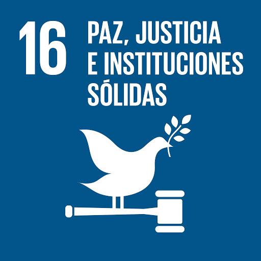 ODS 16 Objectius de Desenvolupament Sostenible