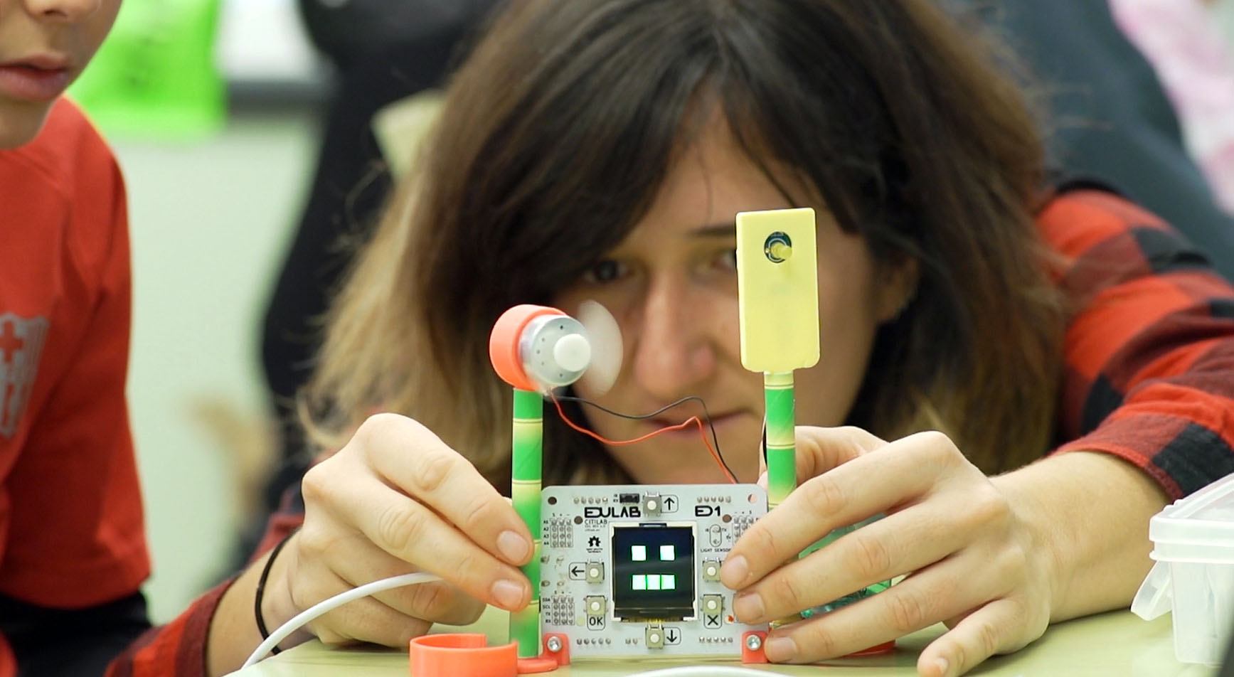 Maqueta d'Escola Intel·ligent amb EduLab
