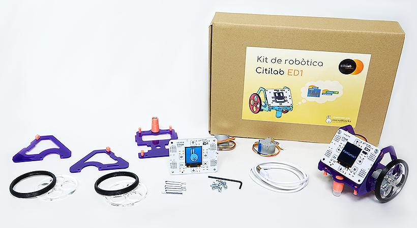 Ja Podeu Adquirir El Kit De Robòtica I La Placa ED1 Del Citilab A Través De La Nostra Nova Botiga En Línia!