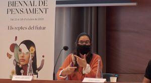 Irene Lapuente (La Mandarina de Newton) - Biennal de Pensament 2020