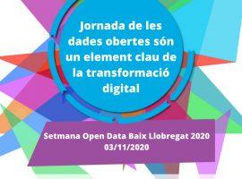 Jornada 'Les Dades Obertes, Element Clau De La Transformació Digital' (en Línia)