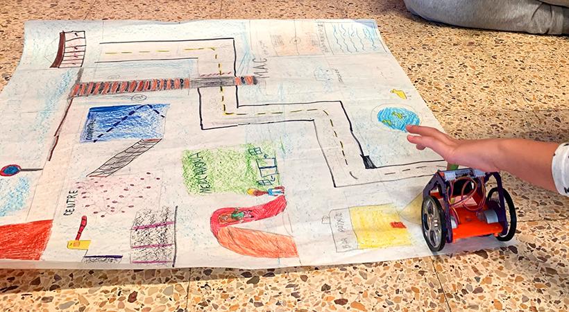 Catifes Pel Robot Fantàstic - Projecte EduLab A L'Escola Montserrat - Curs 2020-2021