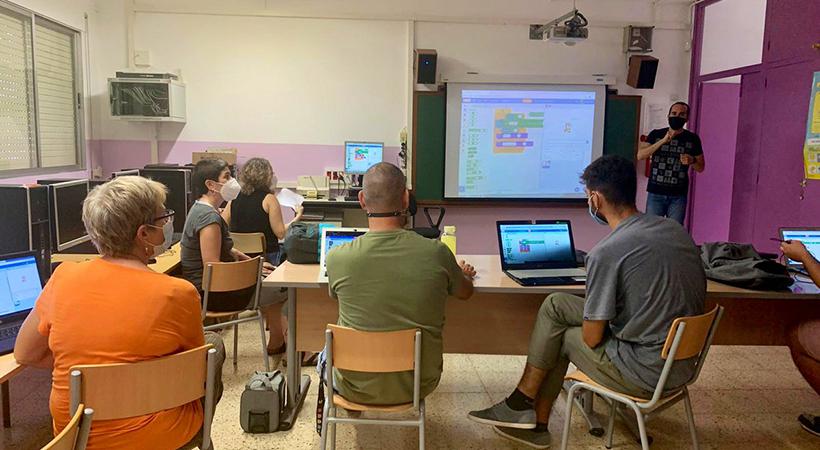 Formació A Formadors A L'Escola Montserrat - Projecte EduLab - Curs 2020-2021