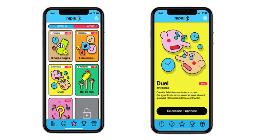 'Nipiu', Una Aplicació Mòbil Interactiva I Gamificada Que Ajuda Els Joves A Reduir L'ús Del Mòbil