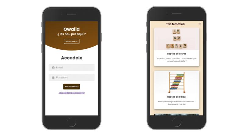 'Qwalia', Una Aplicació Mòbil Alternativa Que Fomenta L'autoconeixement I Contribueix A L'estudi De Les Tecnoaddiccions